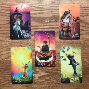 5 card tarot layout
